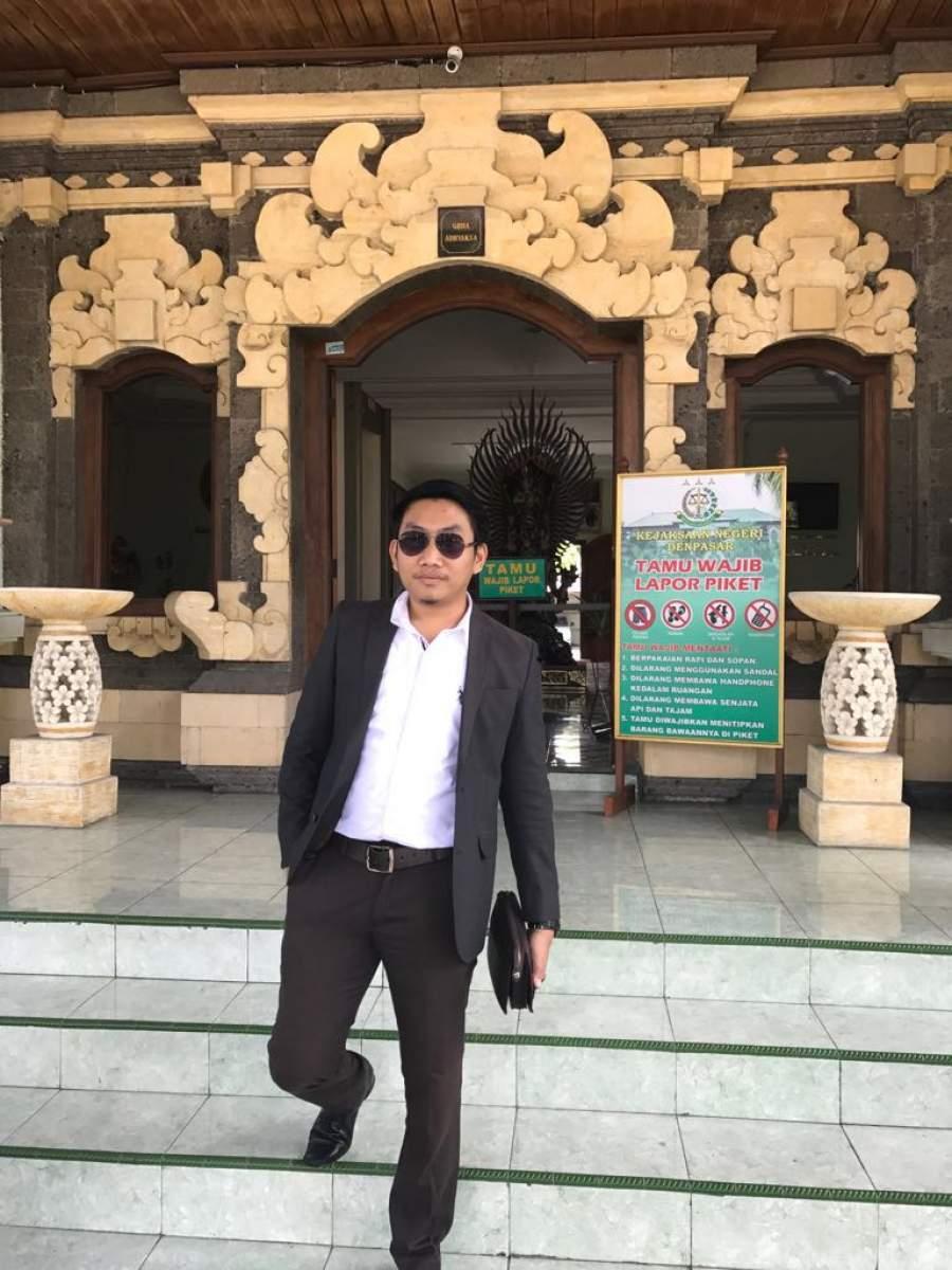 Ahmad Fatoni pengacara dari kantor hukum RLD & Associates