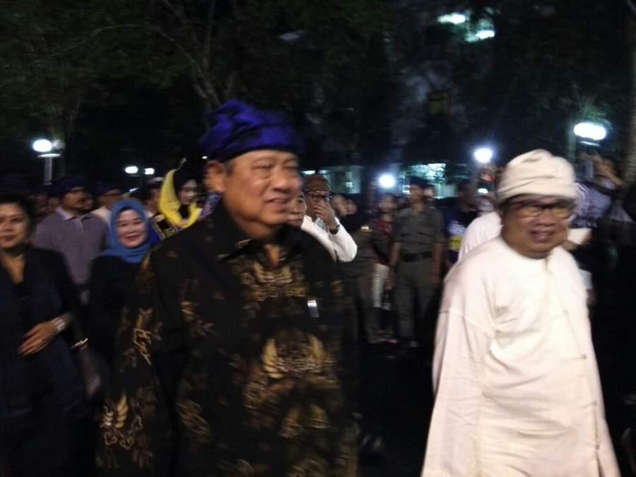 SBY Hadiri Seba Baduy