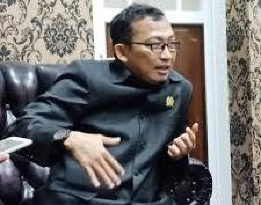 Wakil ketua III DPRD Kota Serang Hasan Basri