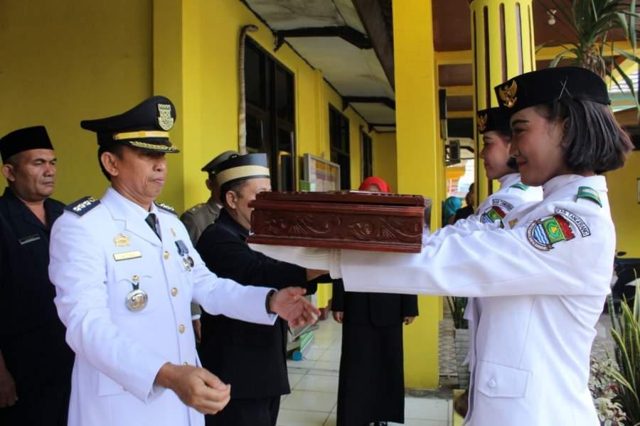 Peringatan HUT RI ke 74 di Kecamatan Jayanti Berlangsung Khidmat