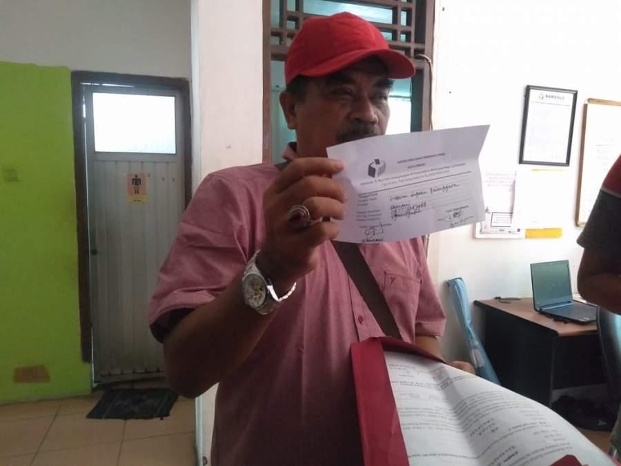 Adanya Penggelembungan Suara, Ketua DPC PDIP Kecamatan Taktakan Lapor Ke Bawaslu Kota Serang