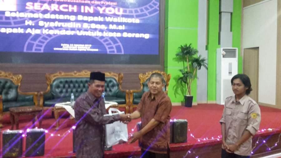 Universitas Sultan Ageng Tirtayasa Gelar Seminar Kewirausahaan dan Profesi