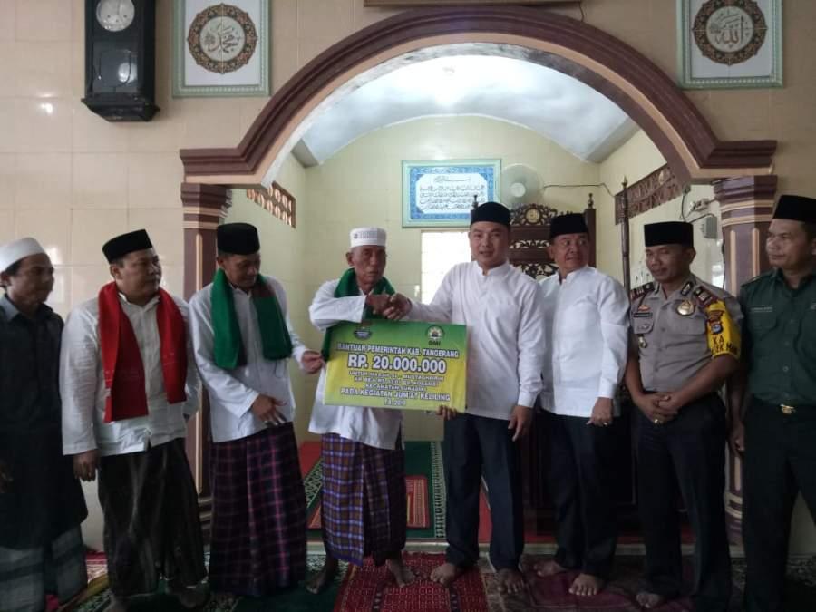 Serap Aspirasi, Wakil Bupati Jumling Di Mesjid Pantura