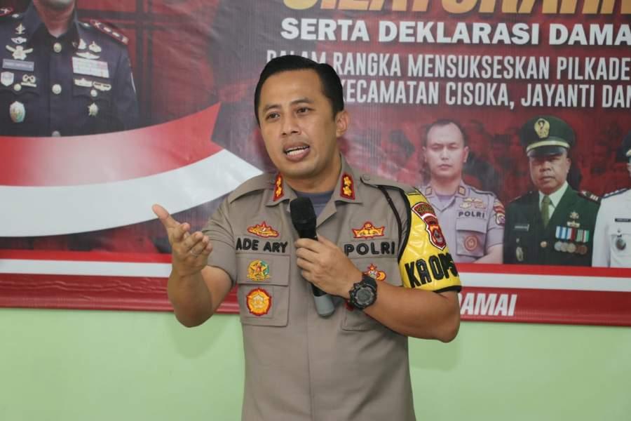 Polresta Tangerang Larang Judi Pilkades