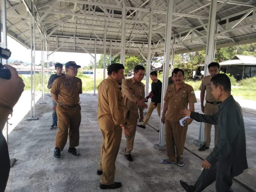 Soal PKL di Stadion, Walikota Serang Tinjau Relokasi Pasar