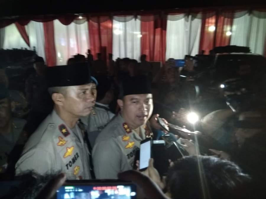 Kapolda Banten; Bila Ada Yang Tidak Berkenan Di Pemilu 2019, Tempuh Dengan Jalur Hukum Yang Benar Dan Baik