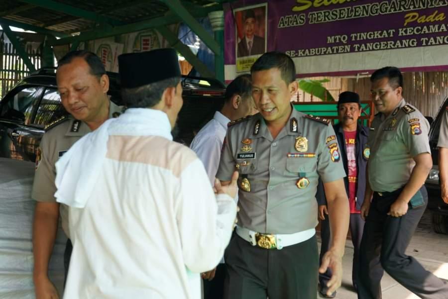 Jalin Kemitraan, PJU Polda Banten Silaturahmi ke Ulama Balaraja