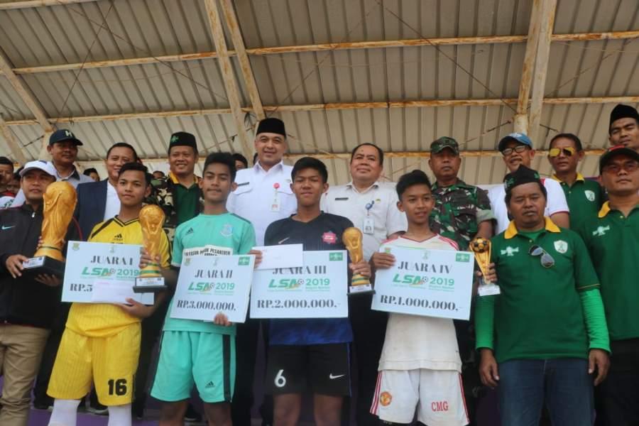 Zaki Tutup Liga Santri Nasional