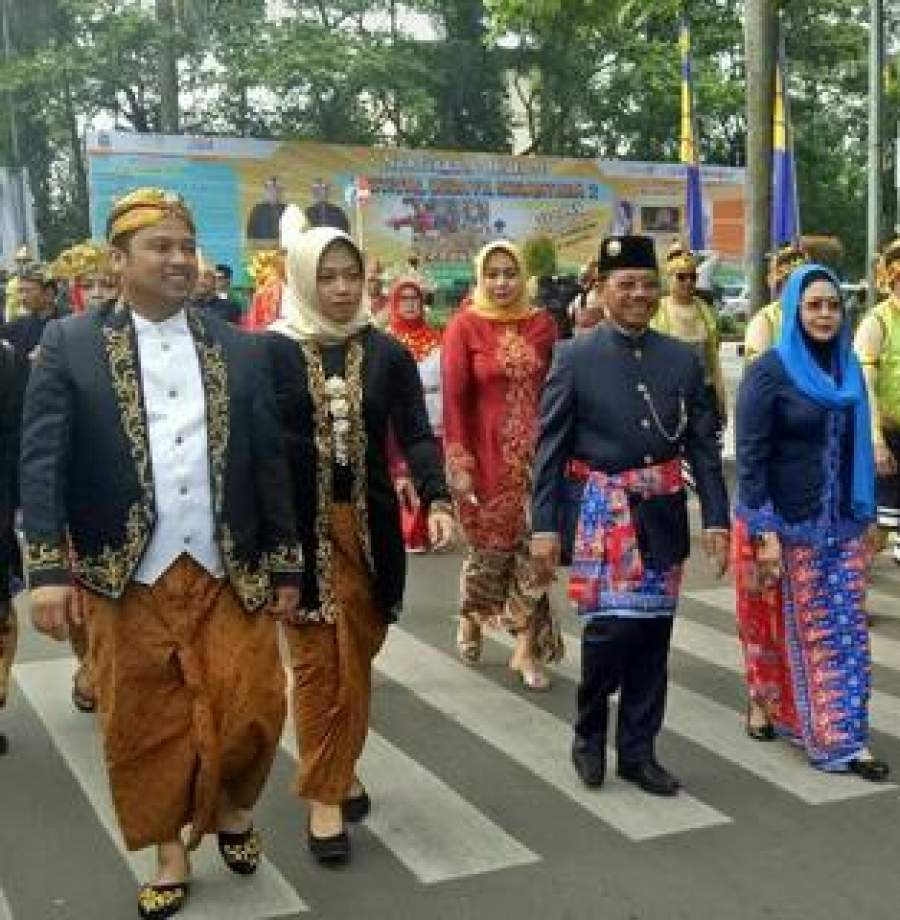 Meriahnya Festival Budaya Nusantara Ke-2 Kota Tangerang, Diikuti 19 Kabupaten/Kota