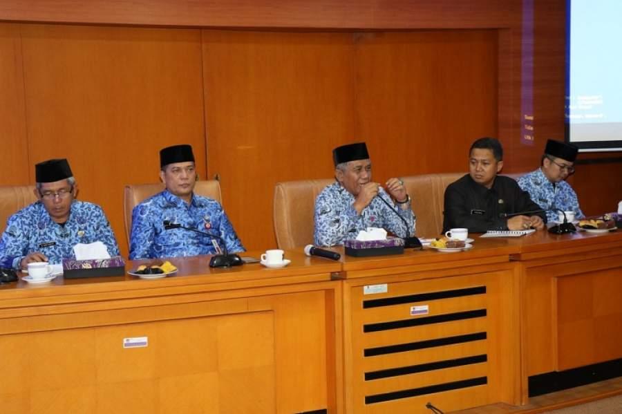 Pemkab Tangerang Terima Peserta Diklat Pim III Dari Pemprov Maluku