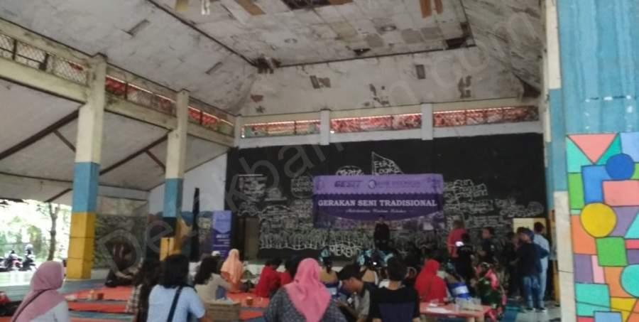 Gedung Kebudayaan Kota Tangerang Memprihatinkan