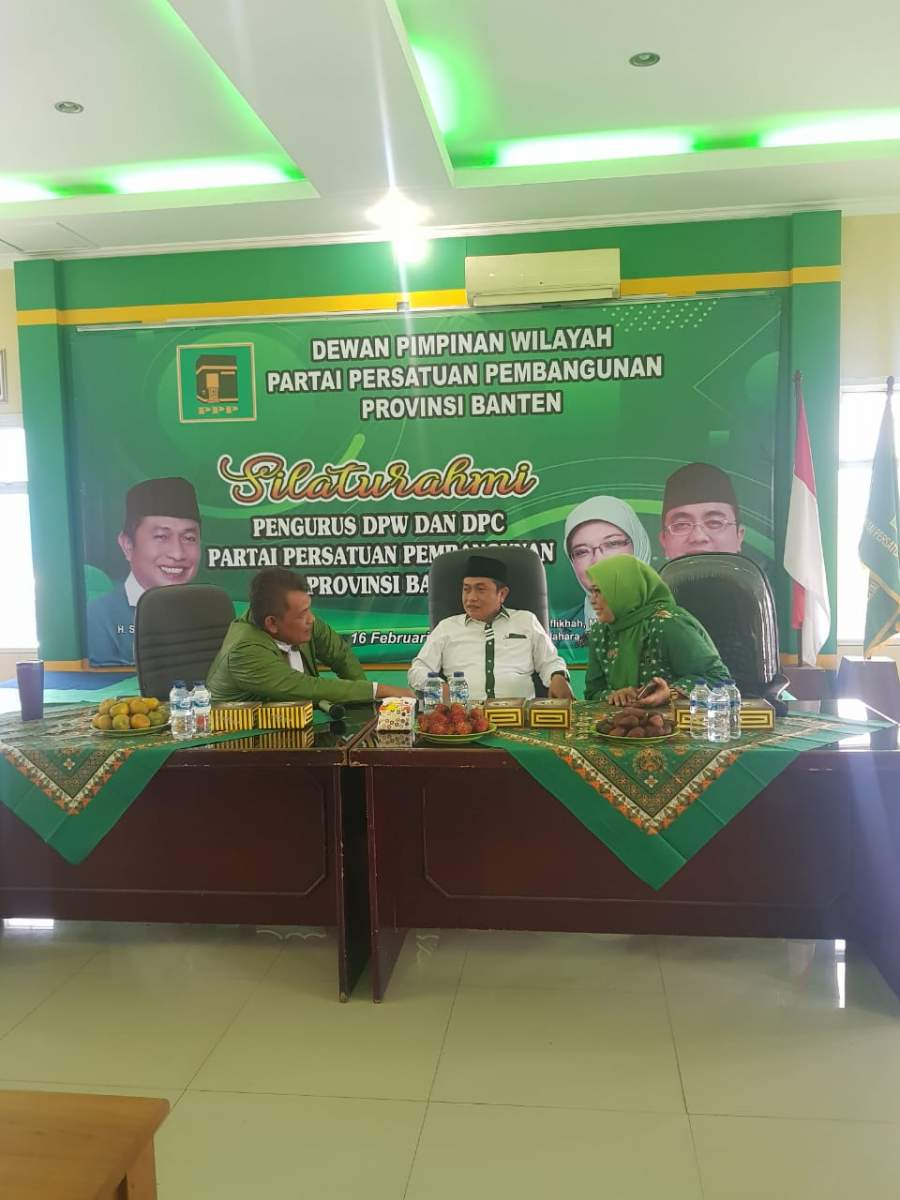 Di Pilih Aklamasi, Subadri Pimpin Ketua DPW PPP Banten