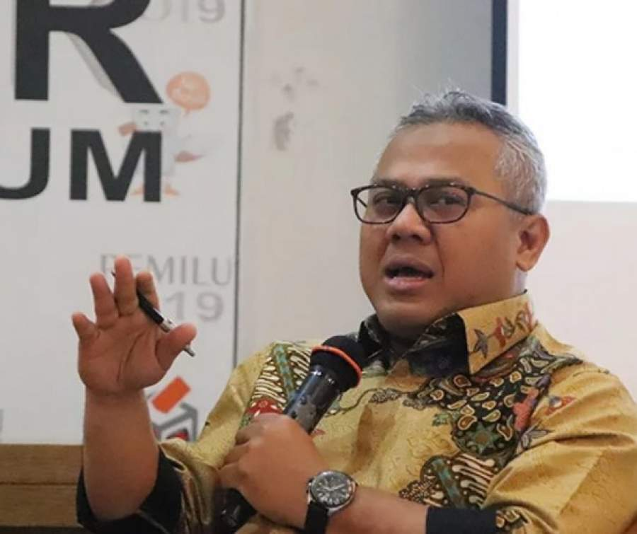 Ketua Komisi Pemilihan Umum (KPU) RI Arief Budiman (net)