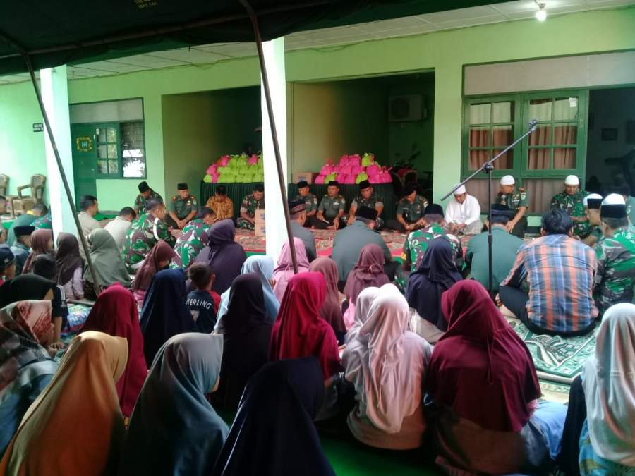 Kodim 0602/Serang Gelar Doa Bersama Anak-Anak Yatim