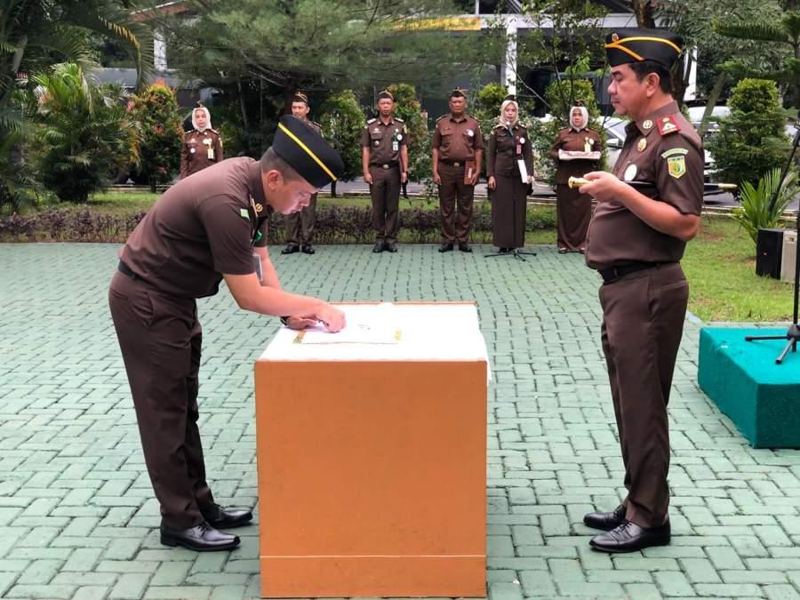 Kejari Kabupaten Tangerang Canangkan Zona Integritas Wilayah Bebas Korupsi