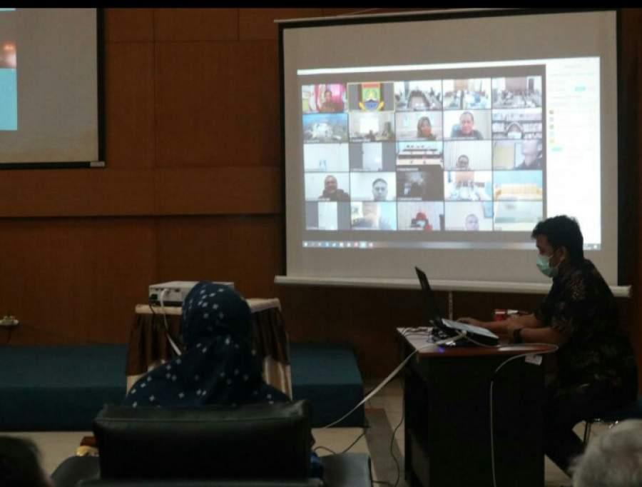 Bappeda Gelar Musrenbang RKPD Kota Cilegon tahun 2021 Secara Virtual