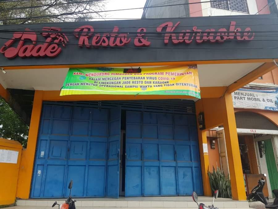 Cegah Covid-19, Jade Resto & Karaoke Dukung Pemerintah Terapkan Physical Distancing di Banten