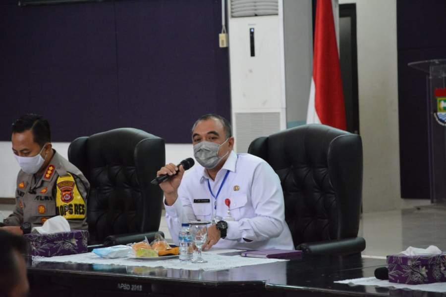 Zaki Pimpin Rapat Kordinasi Persiapan PSBB Di Kabupaten Tangerang