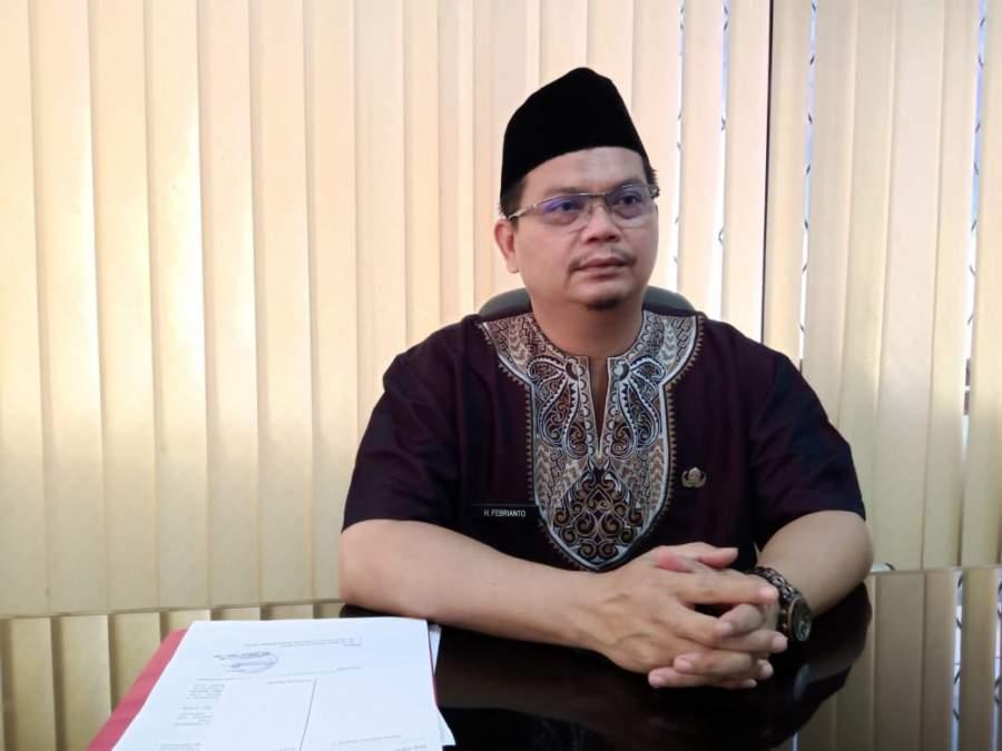 Sekertaris Umum Kabag Kesra Kabupaten Serang H. Febrianto