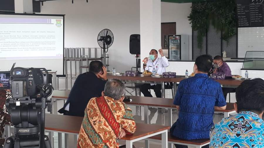 Zaki Sosialisasikan Pencegahan Covid -19 Di Wisma Griya Anabatic Kelapa Dua