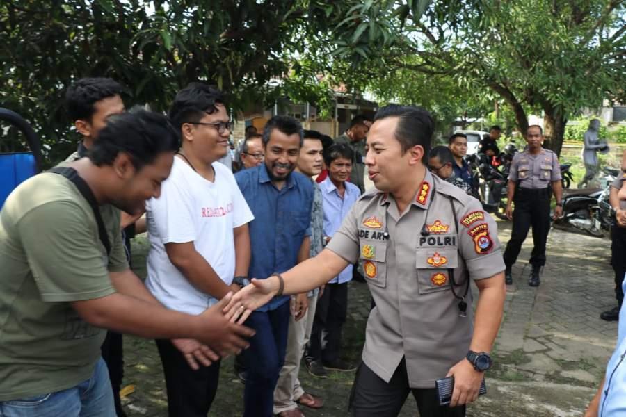 Kapolresta Tangerang Kunjungi Kantor PWI