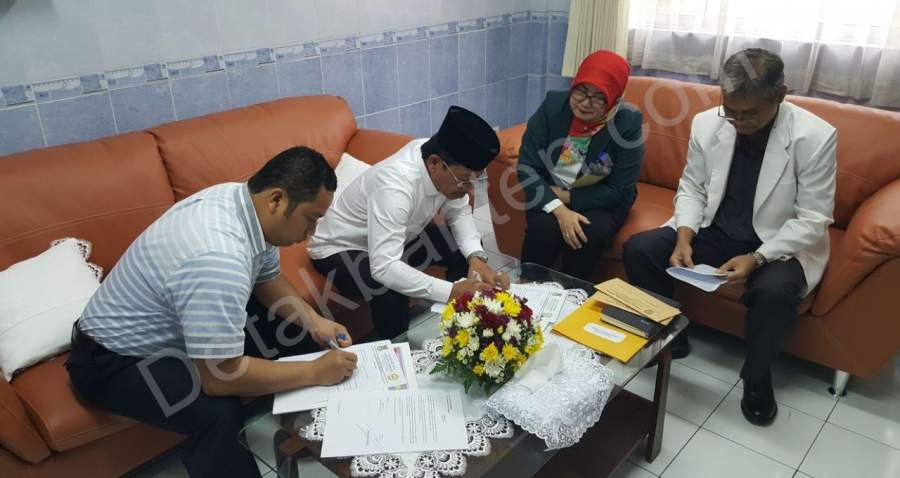 Arief dan Sachrudin Jalani Pemeriksaan Kesehatan di RSUD Kabupaten Tangerang