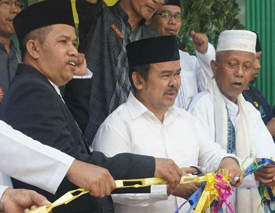 Walikota Serang Resmikan Pembangunan Masjid Nurul Taqwa