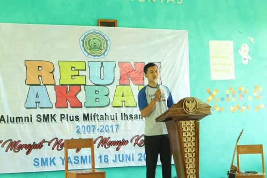 Ikatan Alumni SMK Yasmi Gelar Reuni Akbar
