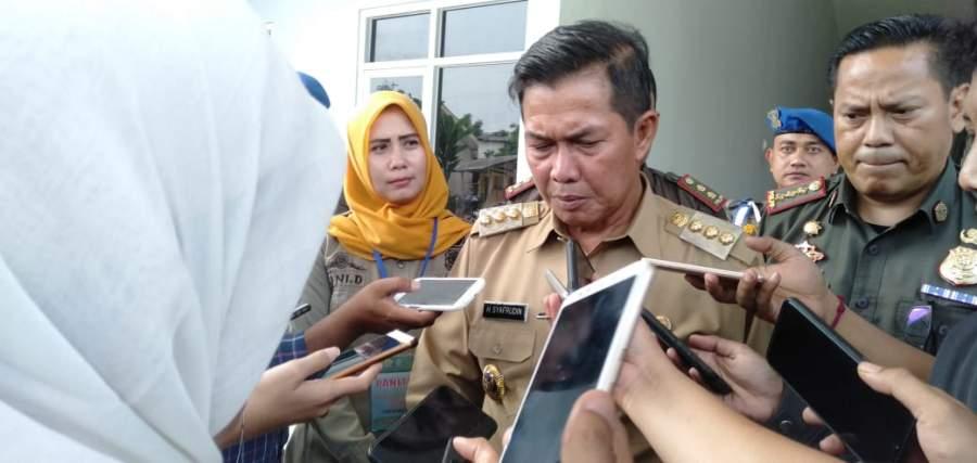 Tertibkan PKL, Walikota Serang : Sat Pol PP Harus Tegas Jangan Kasar