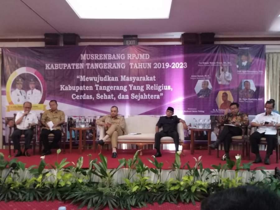 Zaki Buka Musrenbang RPJMD 2019 - 2023