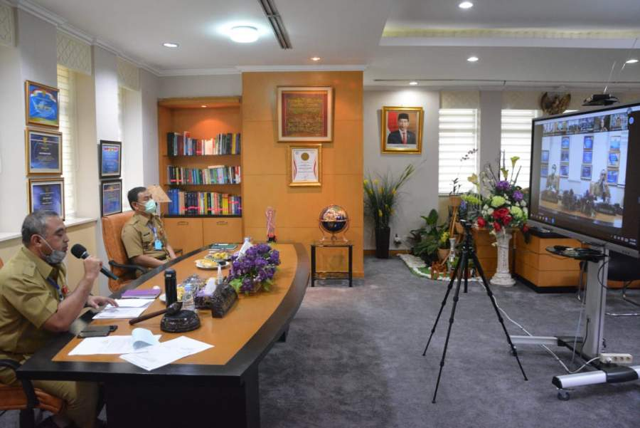 Zaki Pimpin Musrenbang Online
