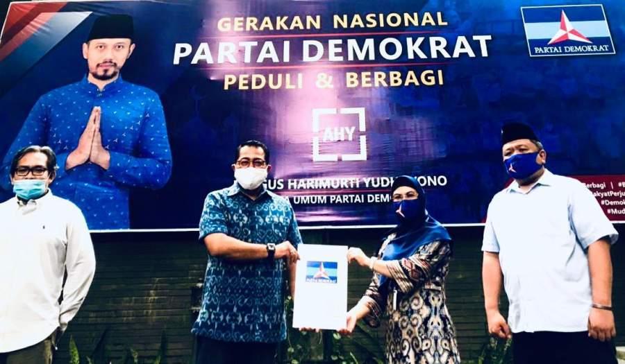 Pilkada Tangsel, Siti Nur Azizah Resmi Di Usung Partai Demokrat