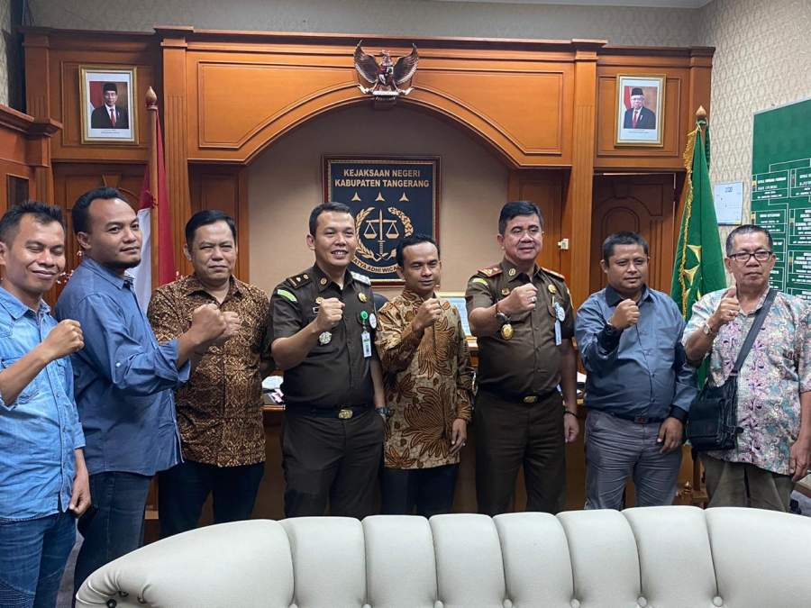 Kejari Kabupaten Tangerang dan Terima Kunjungan Insan Pers