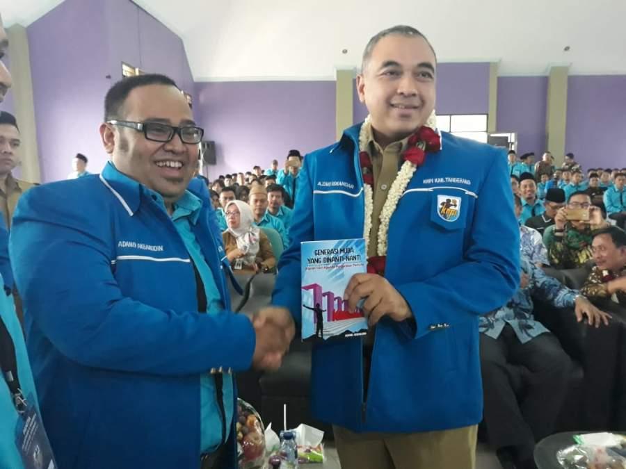 Hadiri Pelantikan DPD KNPI, Zaki Ingatkan Pemuda Untuk Bekerja Keras