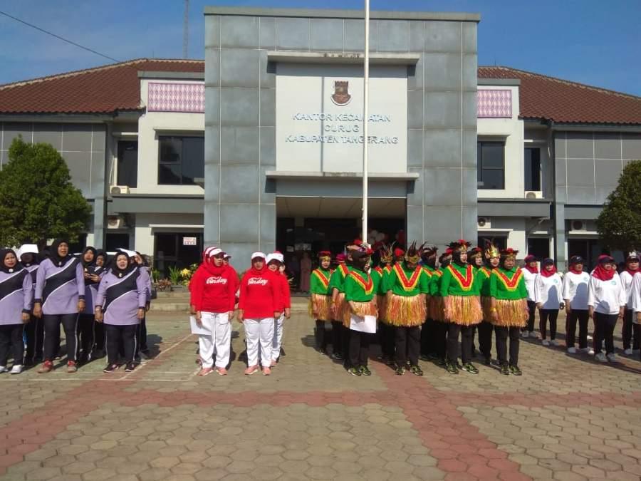 Sekda Resmi Buka Pekan Olahraga Kecamatan Curug