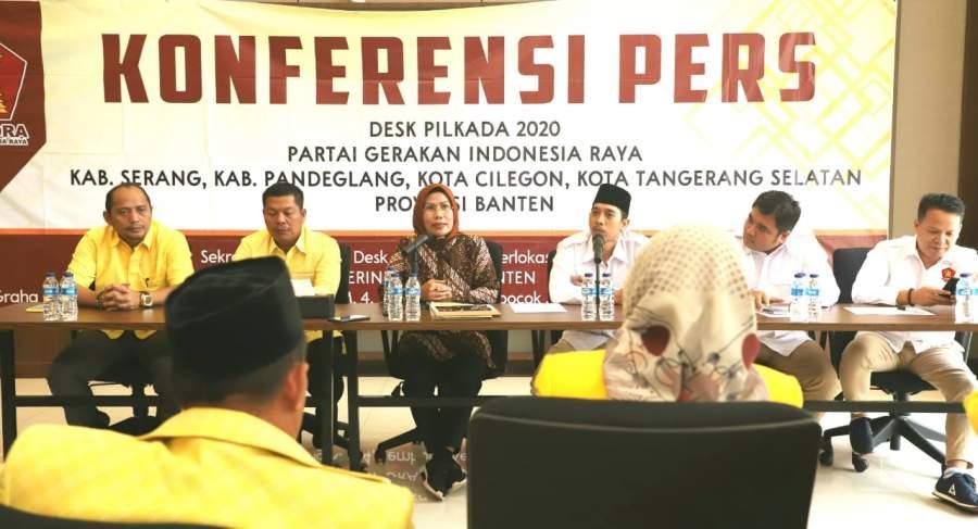 Fit And Proper Test di Gerindra, Ratu Tatu: Kabupaten Serang Sukses, Bersama Gerindra Tuntas