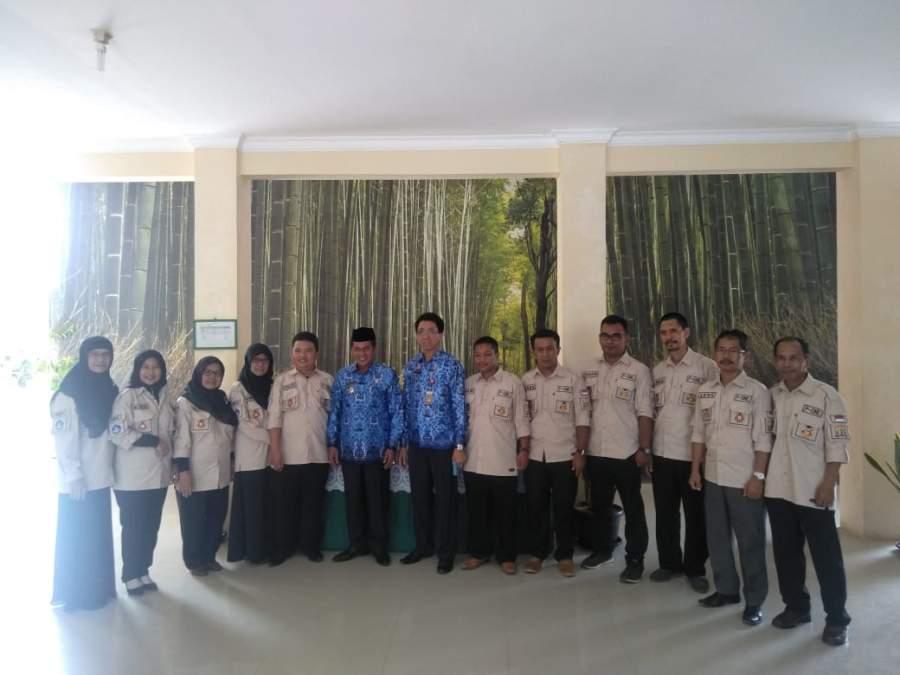 Walikota Serang Tinjau UNBK Tingkat SMP dan SD