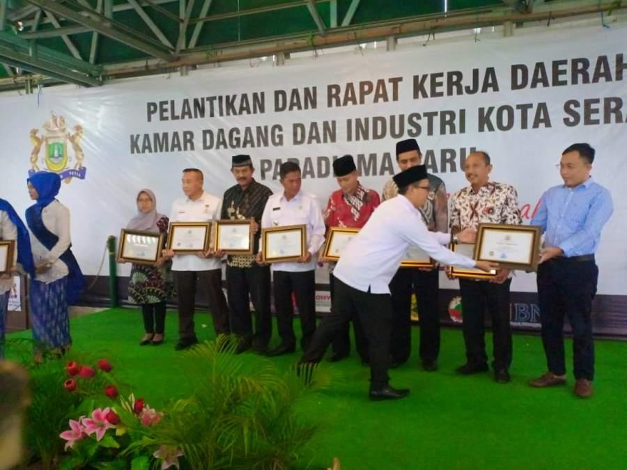 Kepengurusan Kadin Paradigma Baru Kota Serang, Periode 2019 - 2024 Resmi Dilantik