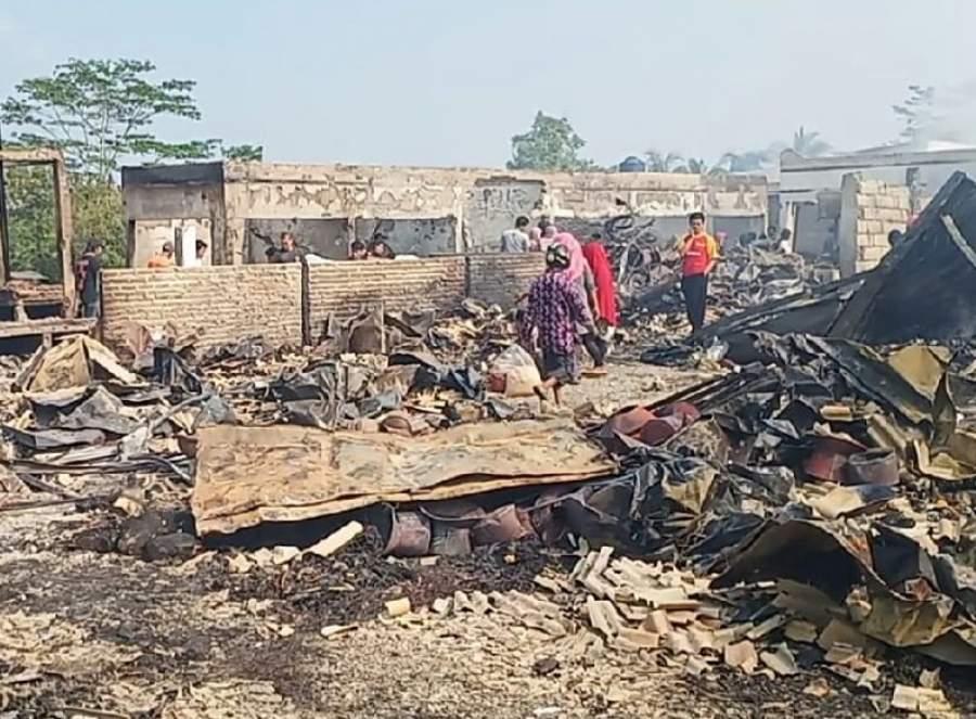 Pasca Kebakaran, Para Pemilik Kios Pasar Baros Minta Perhatian Pemerintah