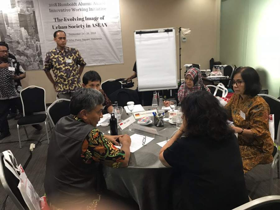 UPJ Gelar International Urban Workshop