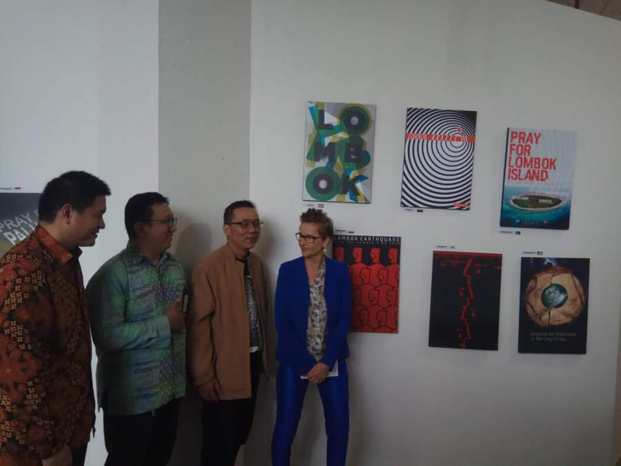 Seniman Polandia Pameran di Tangerang