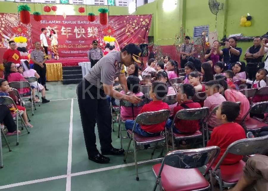 Kapolres Pastikan Perayaan Imlek di Kota Serang Kondusif