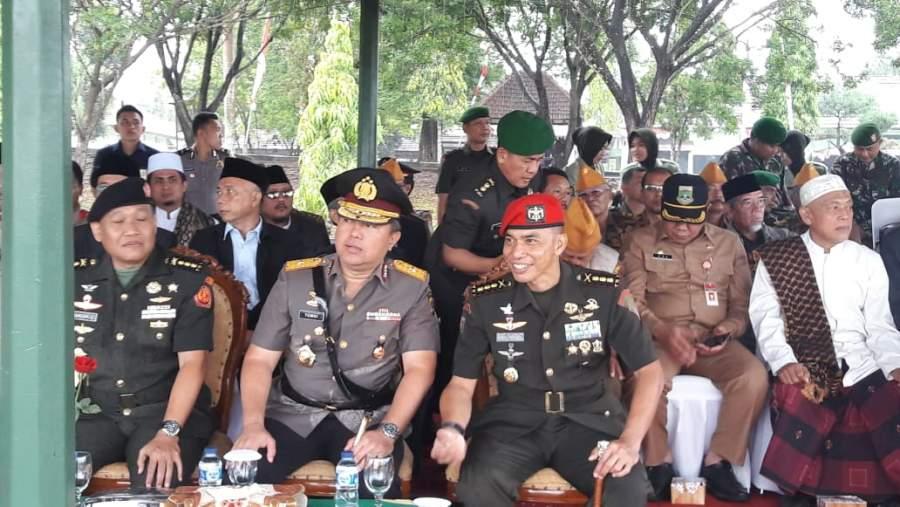 Kapolda Banten Hadiri Upacara Hari Juang Kartika ke-73 di Group 1 Kopassus