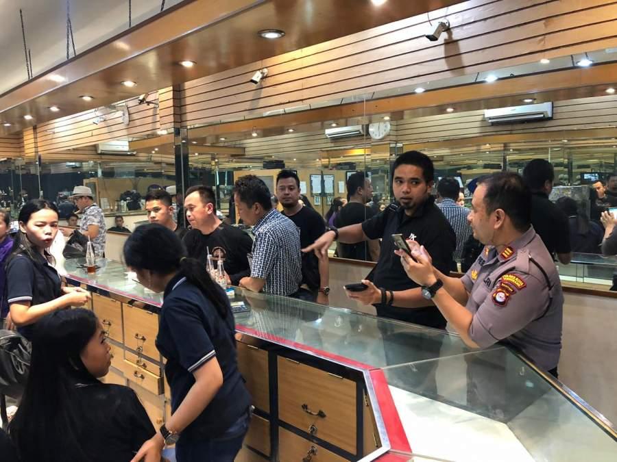 Polisi Buru Pelaku Perampokan Toko Emas Di Balaraja