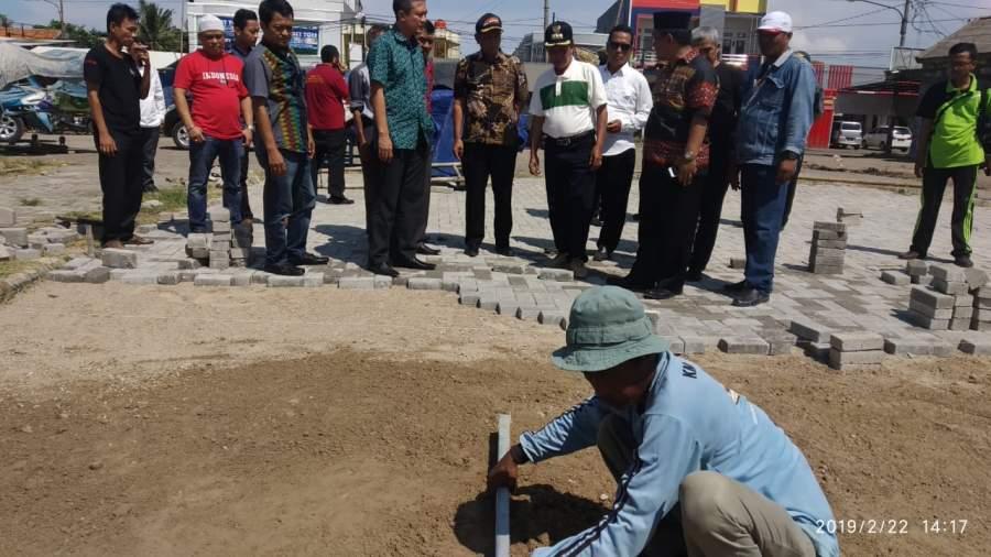 Percepat pembangunan Pasar, Walikota Serang Tinjau Pasar Kepandean