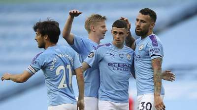Manchester City Tumbangkan Burnley Di Etihad Stadium